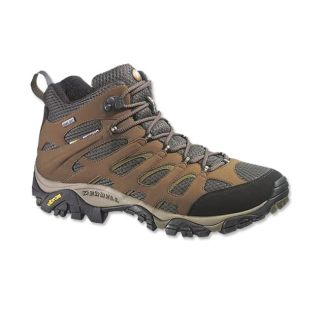 Merrell Moab Mid Gore tex Hiking Boots / Merrell Moab Mid Gore tex Hiking Boots, Earth, 12
