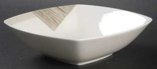Mikasa Modern Art Coupe Soup Bowl, Fine China Dinnerware   Elegance,Beige&Gray G