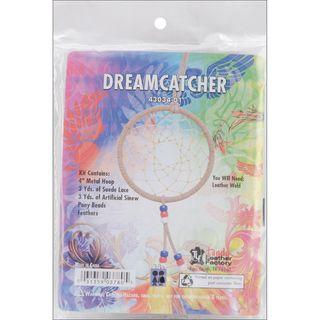 Native Heritage Dream Catcher Kits beige 4 Diameter