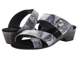 Helle Comfort Focean Womens Slide Shoes (Black)