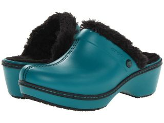 Crocs Cobbler EVA Womens Clog/Mule Shoes (Black)
