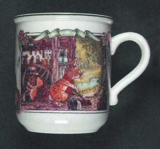 Villeroy & Boch Foxwood Tales Mug, Fine China Dinnerware   Boutique Shape, Anima