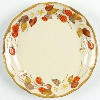 Metlox   Poppytrail   Vernon Autumn Berry Salad Plate, Fine China Dinnerware   E