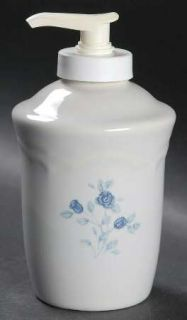 Pfaltzgraff Poetry Glossy Lotion Dispenser, Fine China Dinnerware   Glossy, Newe