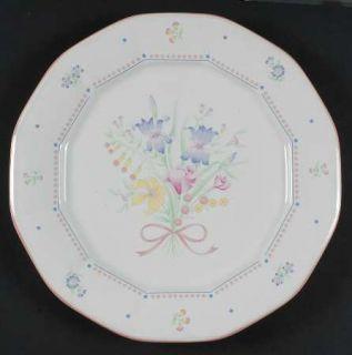 Sarma Studios Victorian Flowers 12 Chop Plate/Round Platter, Fine China Dinnerw