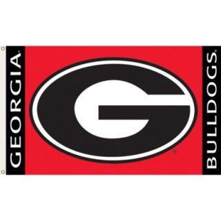 Georgia Bulldogs Flag   3x5