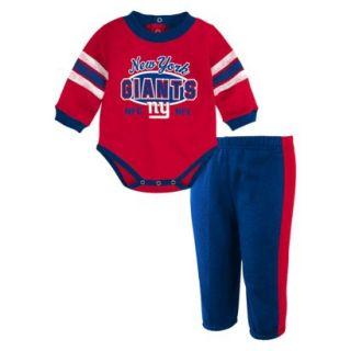 NFL Infant Capri Pants 12 M Giants