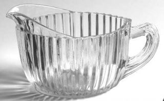 Anchor Hocking Queen Mary Clear Creamer   Clear, Depression Glass