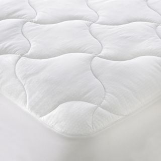 ISOTONIC Iso Cool Memory Foam Mattress Pad, White