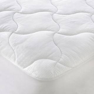 ISOTONIC Iso Cool Memory Foam Mattress Pad, White