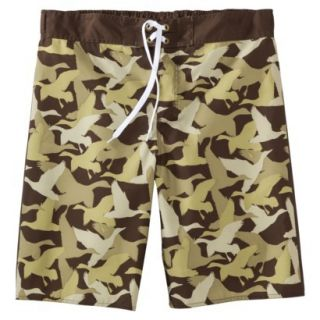 Mens Duck Dynasty Board Shorts   Camouflage 30