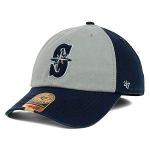 Seattle Mariners 47 Brand MLB VIP 47 FRANCHISE Cap