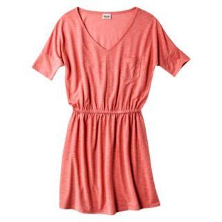 Mossimo Supply Co. Juniors V Neck Dress   Maori Flower Red XXL(19)