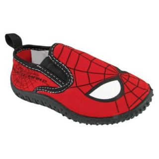 Toddler Boys Spiderman Water Shoes   Black 12