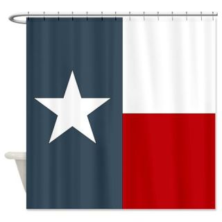 CafePress Bold Texas Shower Curtain Lone Star State Flag Free Shipping! Use code FREECART at Checkout!