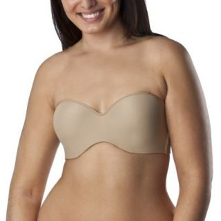 Self Expressions By Maidenform Womens Full Support Strapless Bra   Beige 36DD