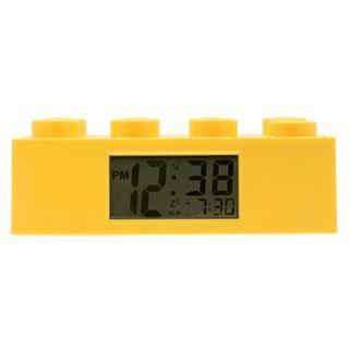 Lego Yellow Brick Digital Clock, Boys