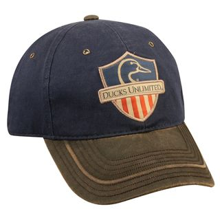 Ducks Unlimited American Flag Adjustable Hat (100 percent cottonOne size fits mostLow profile hat with pre curved visorHeavily washed and frayed lookSlide closure with tuck strap)