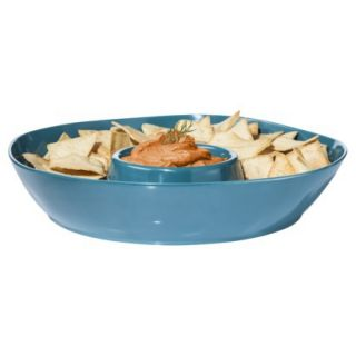 Threshold Melamine Chip & Dip   Teal