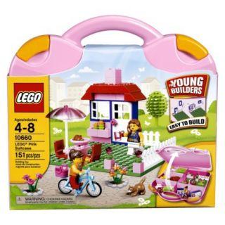 LEGO Juniors Pink Suitcase 10660