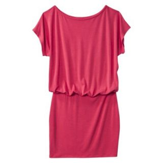 Mossimo Supply Co. Juniors Boxy Top Body Con Dress   Washed Red L(11 13)