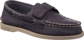 Infant/Toddler Boys Sperry Top Sider A/O H&L   Navy Full Grain Leather Casu