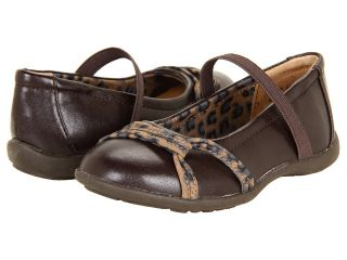 Jumping Jacks Kids Balleto   Amanda Girls Shoes (Brown)