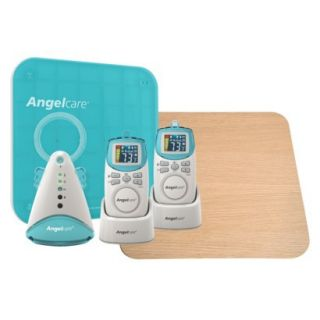 Angelcare AC401 2P Deluxe Movement & Sound Monitor with Wood Support Board