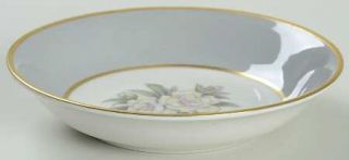 Royal Jackson Countess Heirloom Gray (Gold) Fruit/Dessert (Sauce) Bowl, Fine Chi
