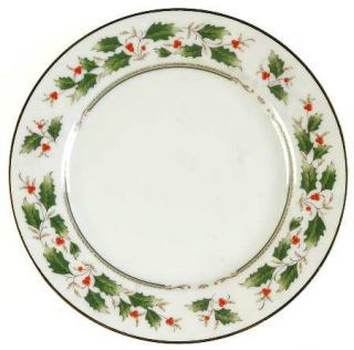 Seizan Noel Bread & Butter Plate, Fine China Dinnerware   Ivory Background    Ho