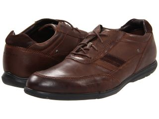 Rockport Style Side Bal Mudguard Mens Lace Up Moc Toe Shoes (Brown)