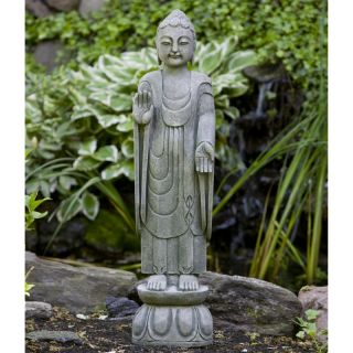 Campania International Royal Buddha Cast Stone Garden Statue   OR 117 AL