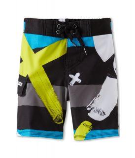 Quiksilver Kids A Little Tude Boardshort Boys Swimwear (Black)