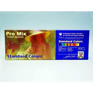 Weber John Sanden Pro Mix Standard Color Oil Color Set : 13 Color