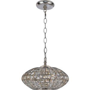 Crystorama Lighting CRY 343 SA Solstice Chandelier Golden Gray Clear Hand Cut