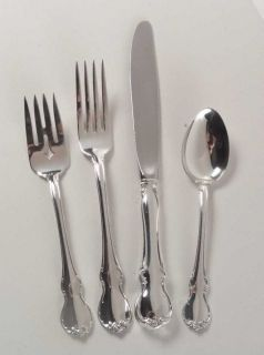 Towle French Provincial(Sterling,1948,No Mono) 4 Piece Place Size Setting   Ster