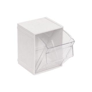... Quantum Storage Clear Tip Out Storage Bins 4in. x 4 1/2in. x ...  sc 1 st  PopScreen & Quantum Storage Clear Tip Out Storage Bin 2in. x 2 1/2in. x 2 3/4in ...