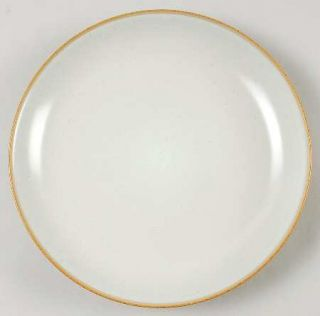 Lindt Stymeist Duo Honey Salad Plate, Fine China Dinnerware   Two Tone Honey Edg