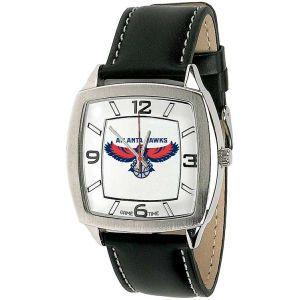Atlanta Hawks Game Time Pro Retro Leather Watch