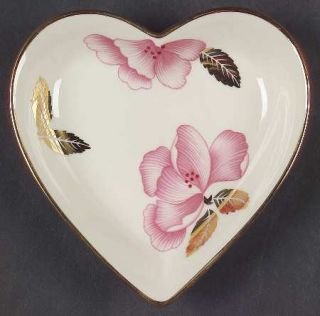Lenox China Royal Blossom Collection Heart Shaped Dish, Fine China Dinnerware