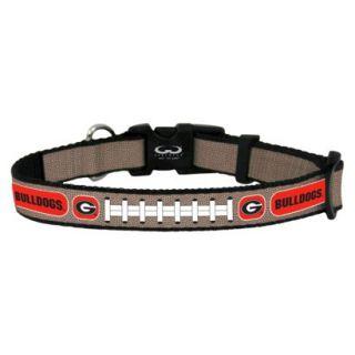 Georgia Bulldogs Reflective Toy Football Collar