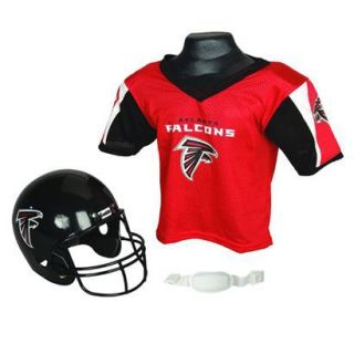 Franklin Sports NFL Falcons Helmet/Jersey set  OSFM ages 5 9
