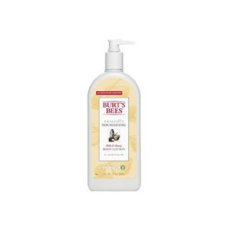 Burts Bees Naturally Nourishing Milk & Honey Body Lotion   12 oz