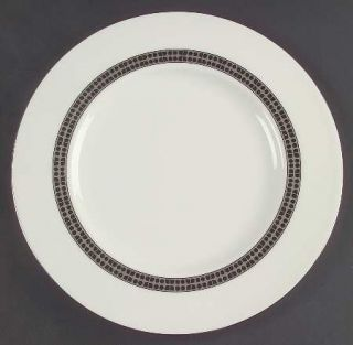Lenox China Noel Platinum Accent Luncheon Plate, Fine China Dinnerware   Kate Sp