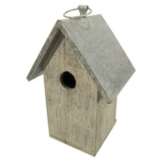 Threshold Wood/Metal Bird House