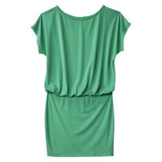 Mossimo Supply Co. Juniors Boxy Top Body Con Dress   Trinidad Green XXL(19)