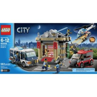 LEGO City Police Museum Break in 60008