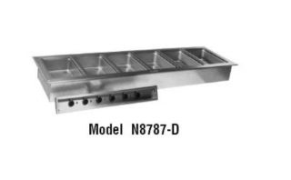 Delfield Drop In Hot Food Well Unit, 4 Pan Size