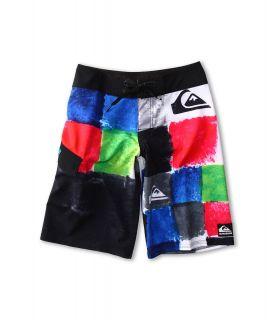 Quiksilver Kids Plasma Boardshort Boys Swimwear (White)