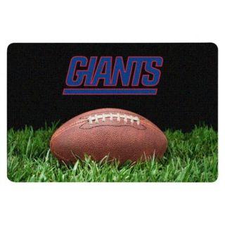 New York Giants Classic NFL Football Pet Bowl Mat   L